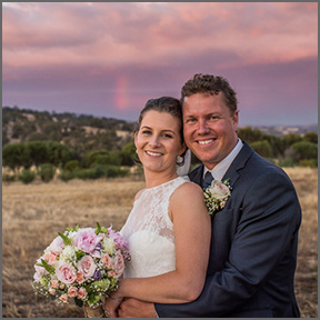Brenton & Belwyn Wedding York WA